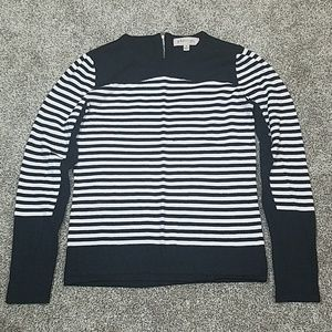 🔥 Philosophy Striped Crew Neck Sweater